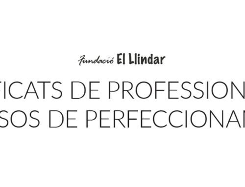 Preinscripciones para formaciones con Certificado de Profesionalidad y cursos de perfeccionamiento